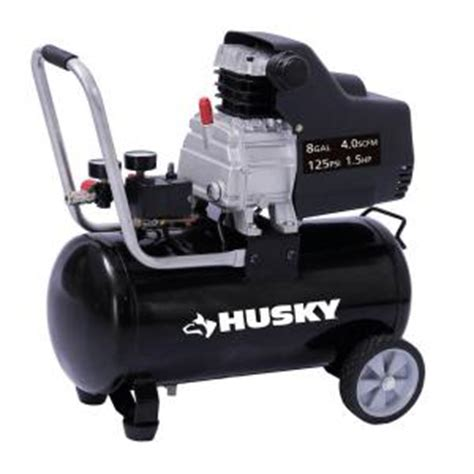husky 8 gal portable electric air compressor ta 2530b
