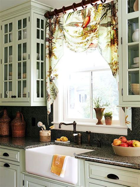 curtains for kitchen window above sink the glass cabinets and window on pinterest