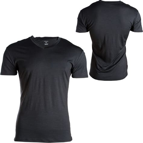 black v neck t shirt template the gallery for gt white v neck t shirt template png