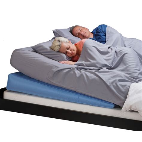 mattress genie incline sleep system adjustable bed wedge  acid reflux relief ebay