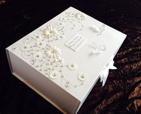 Wedding Keepsake Box by Stunning Large Wedding Engagement Birthday Personalised