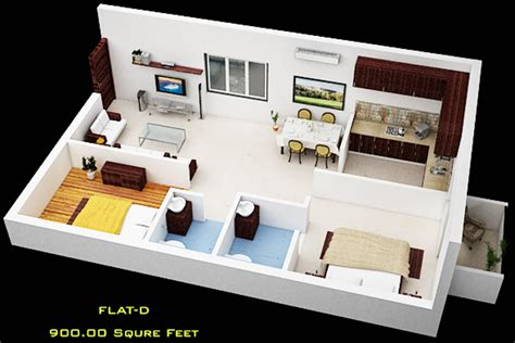 900 sq ft 2 BHK 2T Apartment for Sale in Pawan Caastles
