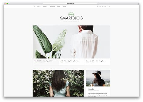 blog theme smartblog 20 beautiful simple wordpress themes for writers 2018