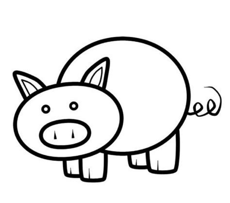 pig pumpkin template nscad computer illustration just another