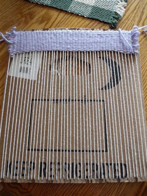 cardboard weaving loom 183 how to make a loom 183 construction