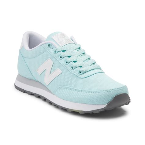 new balance womens shoes womens new balance 501 athletic shoe blue 401557