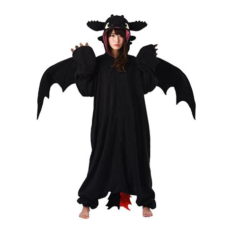 how to trained a how to your toothless kigurumi thinkgeek