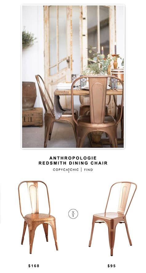 anthropologie dining room anthropologie redsmith dining chair copycatchic