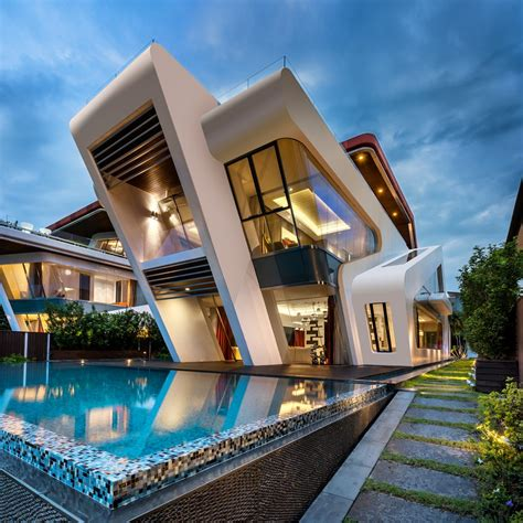 residential architectural design villa mistral house on sentosa island e architect