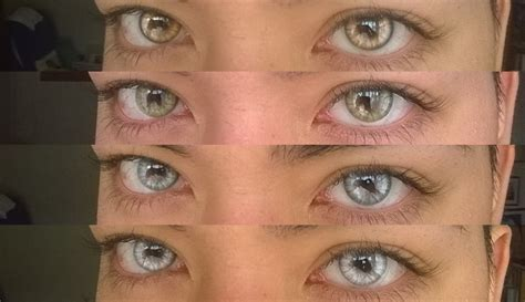 %name Colored Contact Lens   Geo Animation Crazy Green Lens CP F4   Contacts Cow