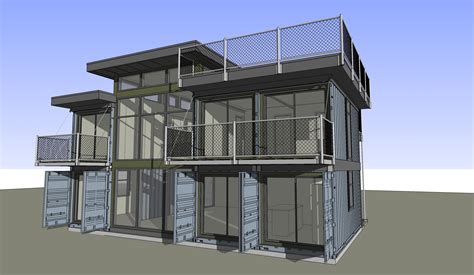 house idea design 2 215 4 plans available zigloo custom container home design