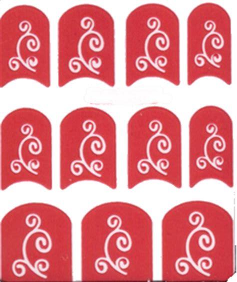 printable nail stencils nail polish stencil delicate swirl 004