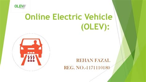 Electric Vehicles Olev Ppt Electric Vehicle