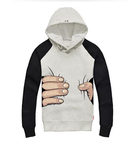 pattern for hoodies funny hoodie big hand grasp pattern creative hoodies for