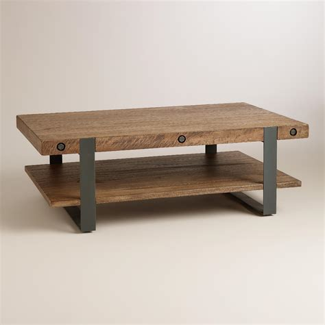 World Market Coffee Table Rustic Skylar Coffee Table World Market