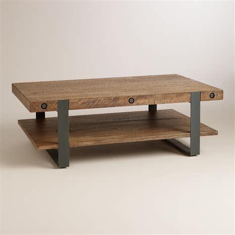 rustic skylar coffee table world market