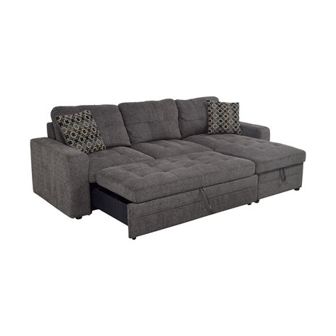 tweed sofa bed 45 grey tweed to sofabed sectional with