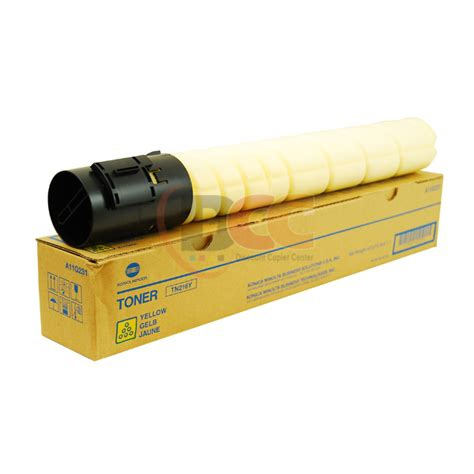 Toner Konica Minolta Bizhub 164 tn216y yellow toner cartridge for bizhub c220 c280