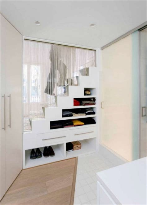 Bedroom Storage Stairs 5 Ideas For Staircase Storage And Utility In Small Spaces
