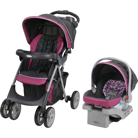 graco snugride car seat and stroller combo graco fastaction dlx travel system car seat stroller