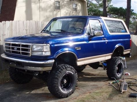Ready Custom Ford Bronco Biru Blue Wheels Hw Hotwheels 17 best images about broncos on trucks icons and 4x4