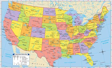 map usa major cities map of the united states with major cities