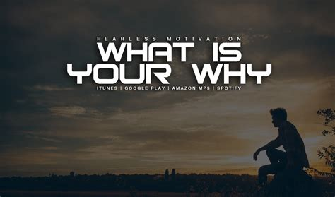 why is my what is your why motivational