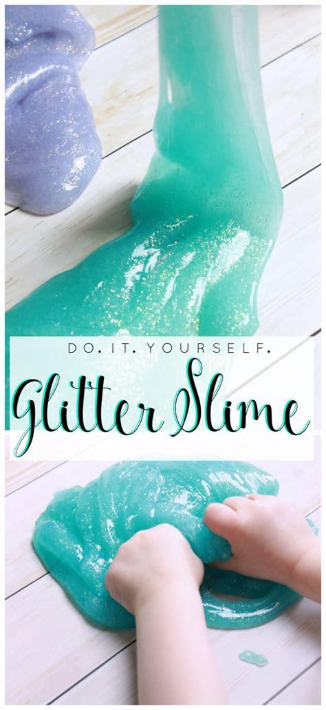 diy glitter slime 10 easy recipes to make slime tip junkie
