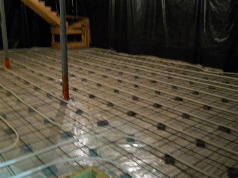 Heated Cement Floor heated concrete floor