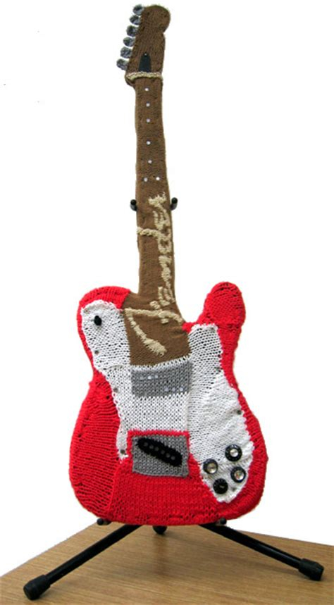 amigurumi guitar pattern knas
