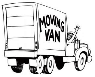 moving van coloring page birditt moving servicing all your moving needs