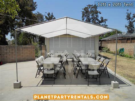 Patio Rentals by 12ft X 20ft Tent Rentals