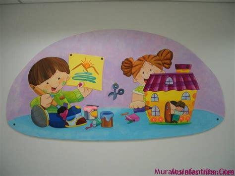 decoracion mural preescolares murales infantiles decoraciones
