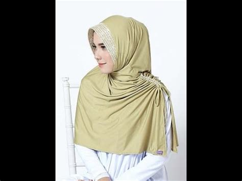 Instan Kerudung Jilbab Polos Kp009 jilbab elzatta ghilda dalemy kerudung elzatta terbaru