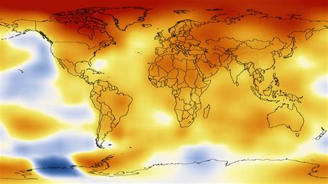 earth temperature map nasa nasa finds 2012 sustained term climate warming