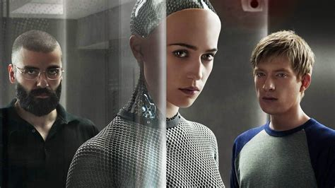 ex machina cast ex machina a movie of machines about human ambition