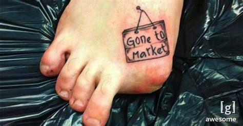 kick up your foot fashion with these toe tattoos freaky