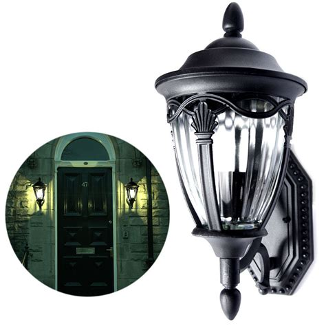 Outdoor Wall Sconce Lighting Fixtures Outdoor Exterior Lantern Wall Lighting Fixture Black Sconce Us Garden Yard House Ebay