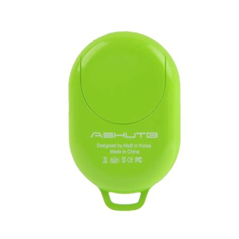Tomsis Bluetooth 3 0 Remote Ab Shutter For Smartphone Berkualitas tomsis bluetooth 3 0 remote ab shutter green