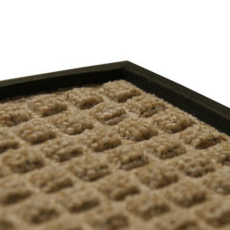 Rubber Or Carpet Floor Mats by Quot Nottingham Quot Rubber Backed Carpet Mat
