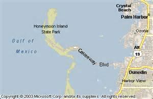 honeymoon island florida map honeymoon island state park map