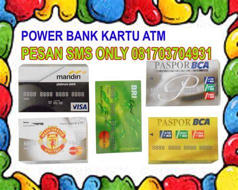 Grosir Aksesoris Hp Medan powerbank kartu atm dari ahaqihiqshop di aksesoris