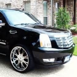 Cadillac On 24 Inch Rims 24 Inch Asanti Af152 Af 152 Chrome Wheels 2008 Cadillac Es