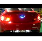 Custom Lighted Genesis Coupe Emblem  YouTube