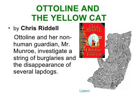 Buku Chris Riddell Ottoline The Yellow Cat gsf09 10