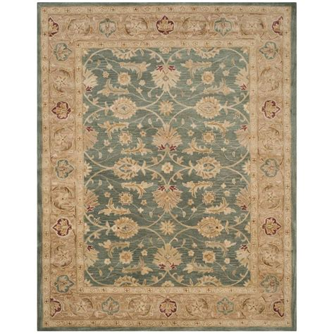 Safavieh Antiquity Safavieh Antiquity Teal Blue Taupe 8 Ft 3 In X 11 Ft