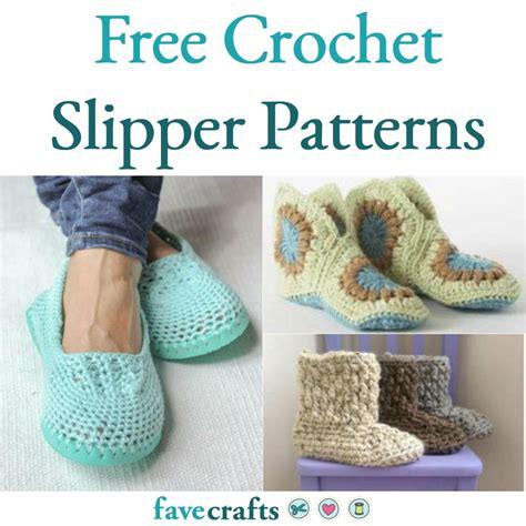 crochet house pattern free 17 free crochet slipper patterns favecrafts com