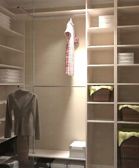 dressing room free 3d model dressing room 2140h820h2520 h mm in the style of avant garde id 11298