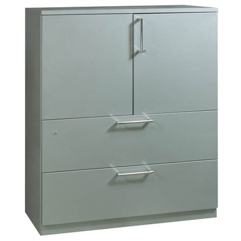 Steelcase Lateral File Cabinet Steelcase 2 Drawer Used 42 Lateral File With Storage Silver National Office Interiors And