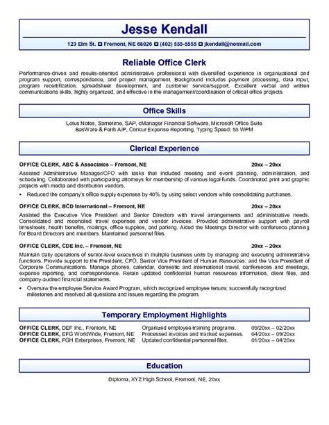 Office Resume Sample – Office Worker Resume Sample   Resume Genius